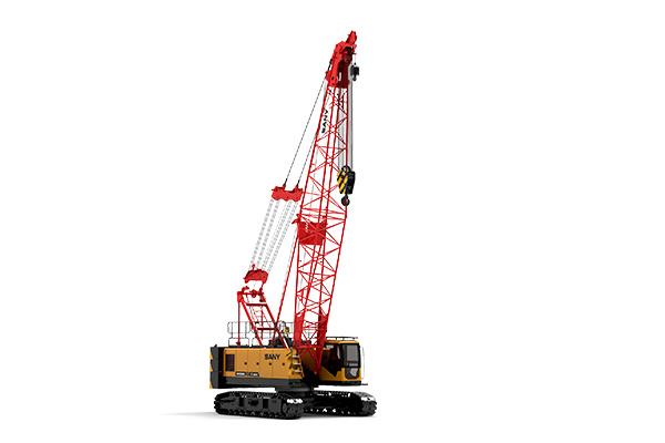 三一55吨履带吊车-SCC550TB伸缩臂履带起重机