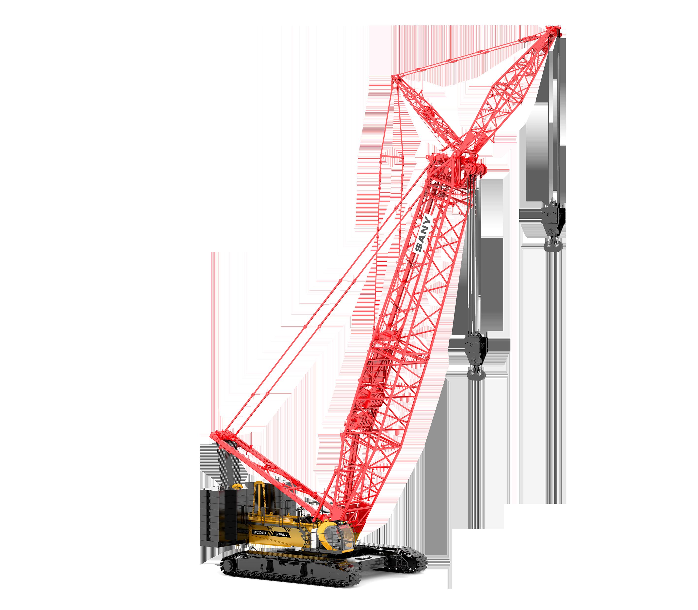 三一320噸履帶吊-履帶式起重機SCC3200A