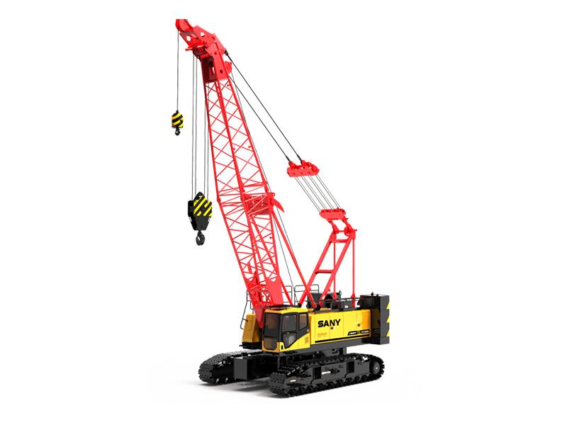 三一80噸履帶吊車——SCC800A履帶起重機