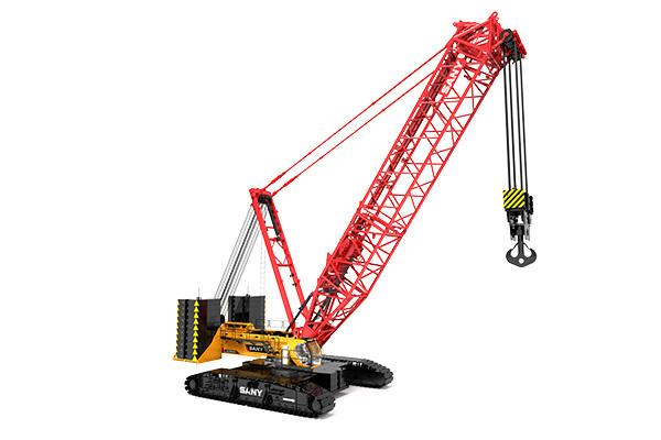 三一650噸履帶吊車——SCC6500A履帶起重機