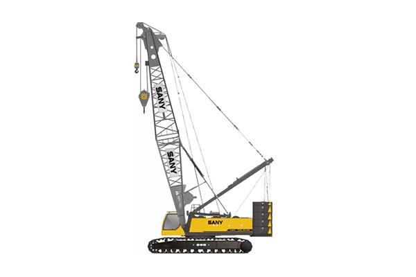三一180噸履帶吊車——SCC1800履帶起重機