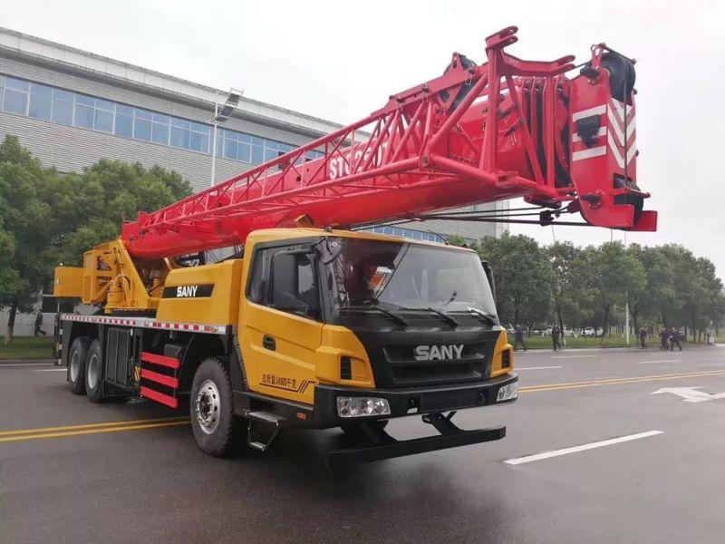 三一25吨汔车吊升级细节